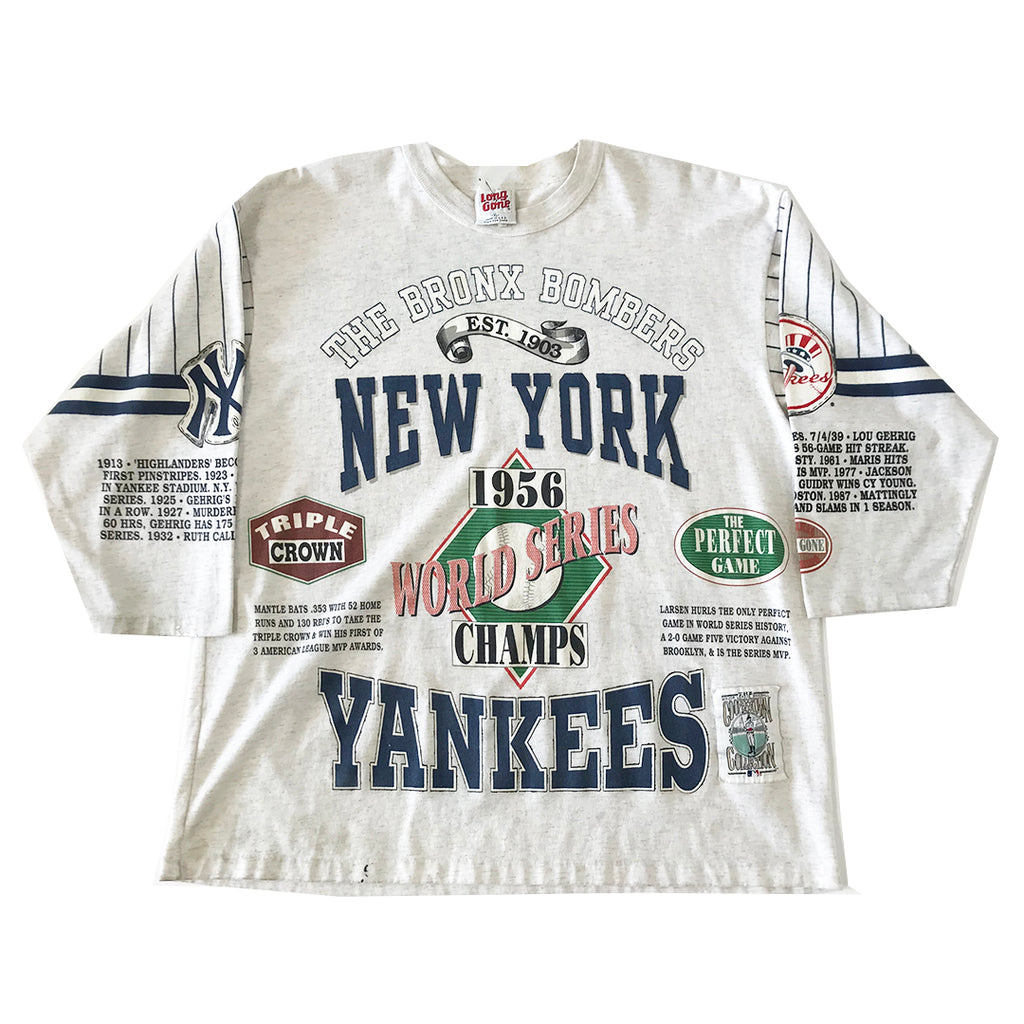 Vintage New York Yankees 1956 World Series Tee (XL)