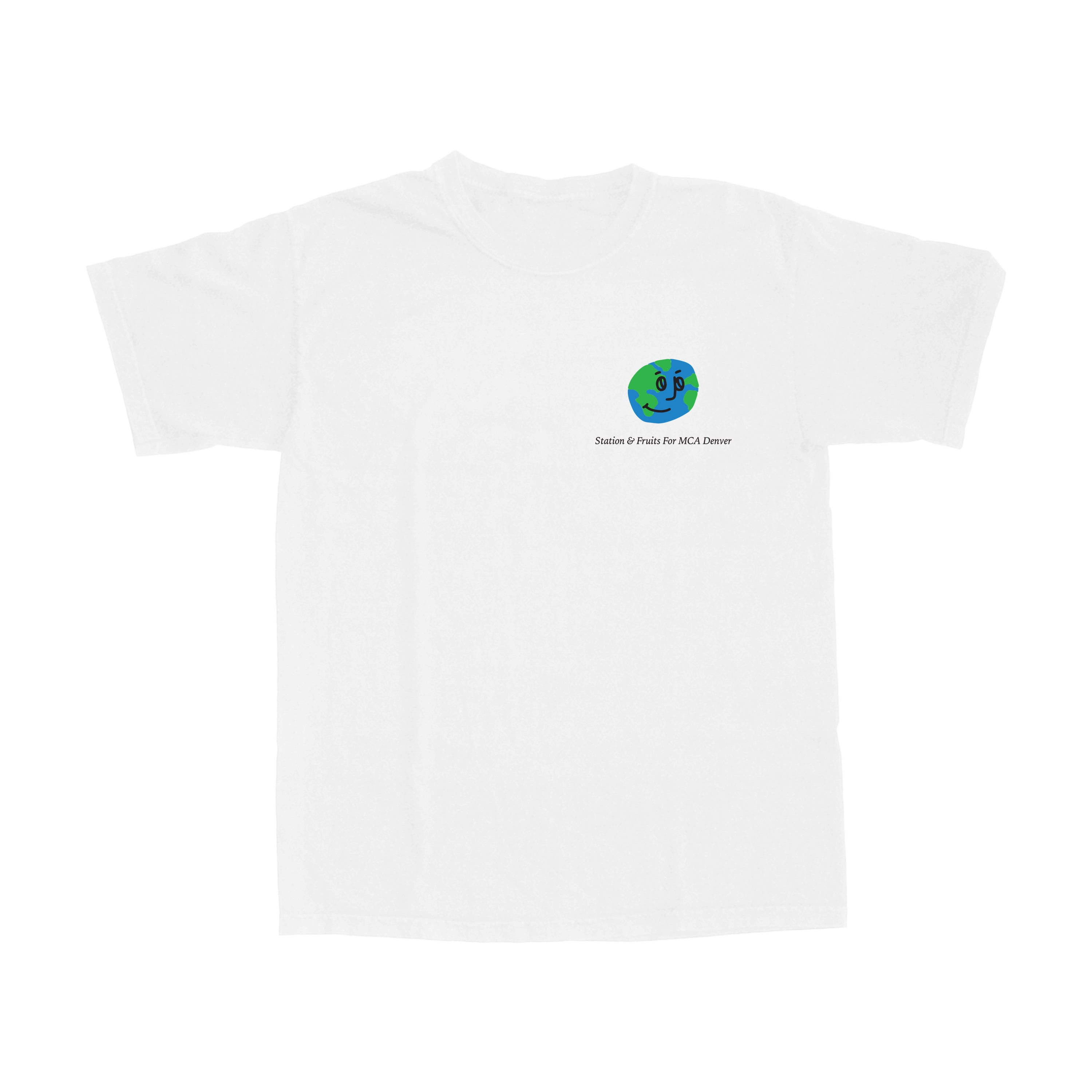 Station x Fruitsartclub 'MCA' Donation Tee