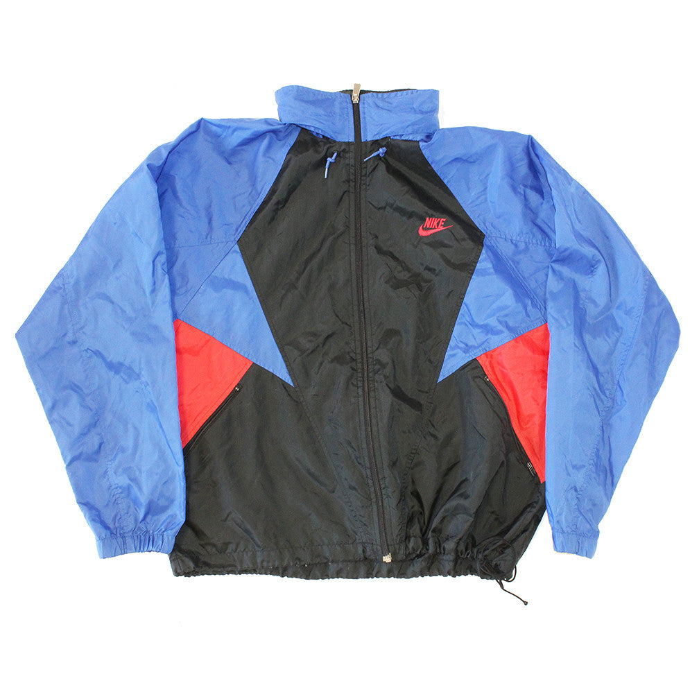 OG Nike Windbreaker warmup track top (L)