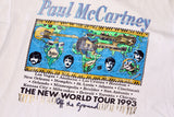 1993 Paul Mccartney world Tour shirt (L)