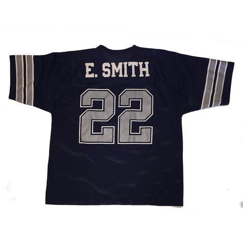 Emmitt Smith #22 Dallas Cowboys Logo 7 Jersey (M)