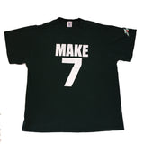 Make 7, UP YOURS! Tee  (XL)