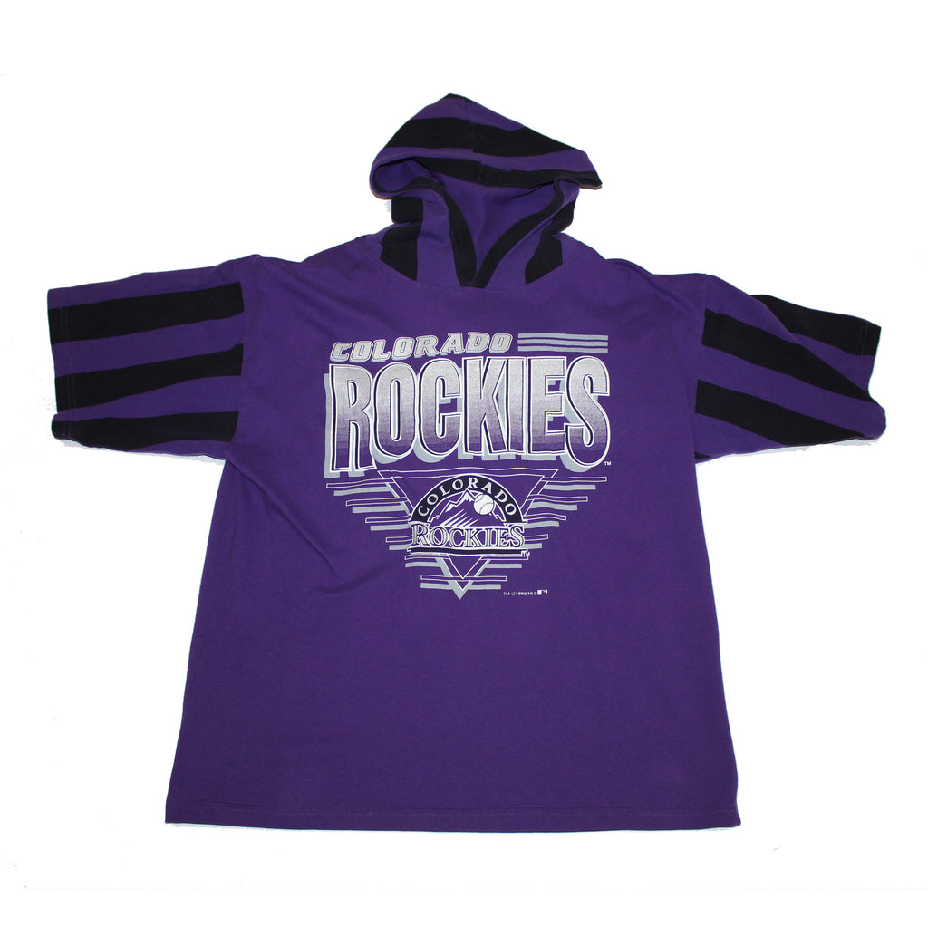 Rockies 90s Hooded Tshirt