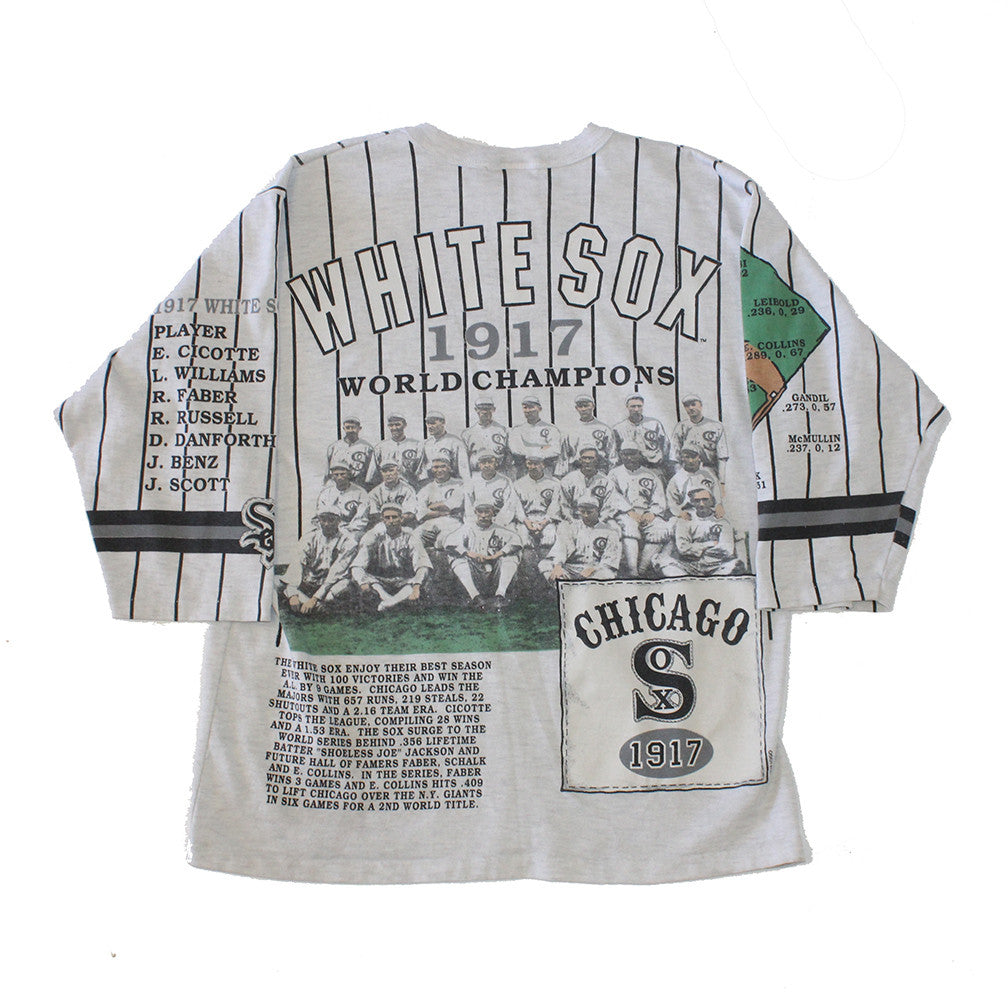 1991 Long gone White sox l/s shirt (L)
