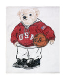Polo Bear Sport Beach Towel