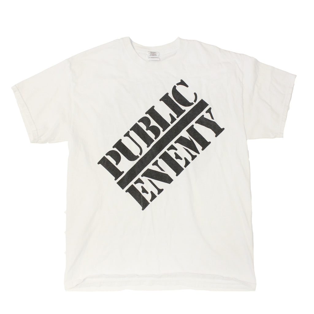 Public Enemy Logo tee (L)