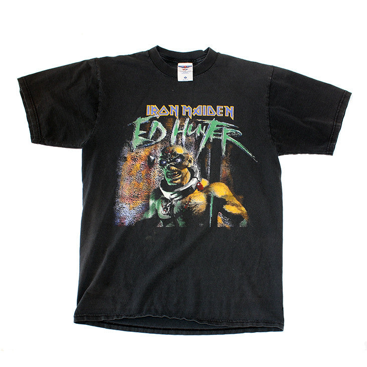 99' Iron Maiden 'Ed Hunter 2X Sided Tee (L-XL)