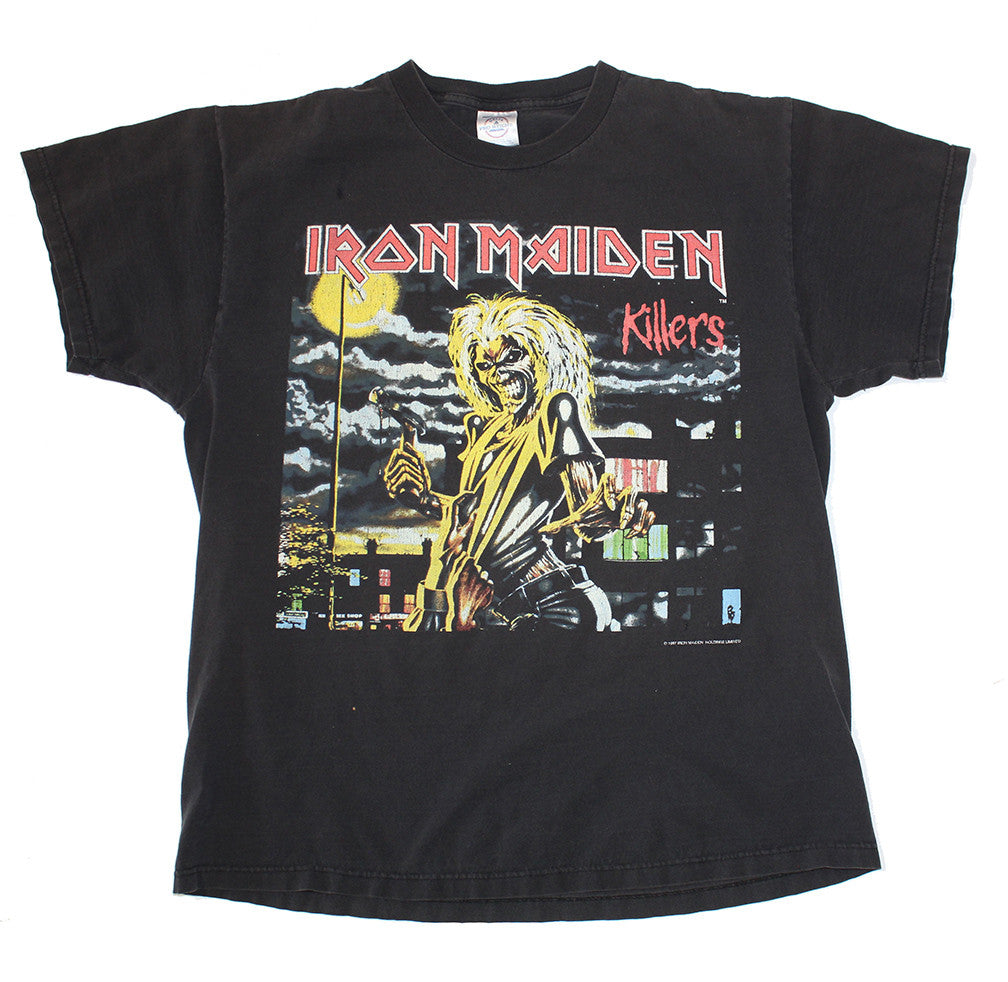 97' Iron Maiden 'Killers' 2X Sided Tee (L)
