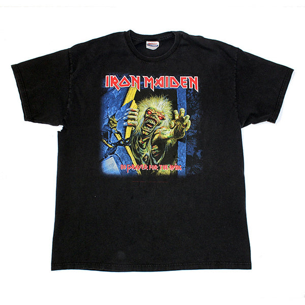 01' Iron Maiden 'No Prayer for the dying' 2x Sided tee (XL)