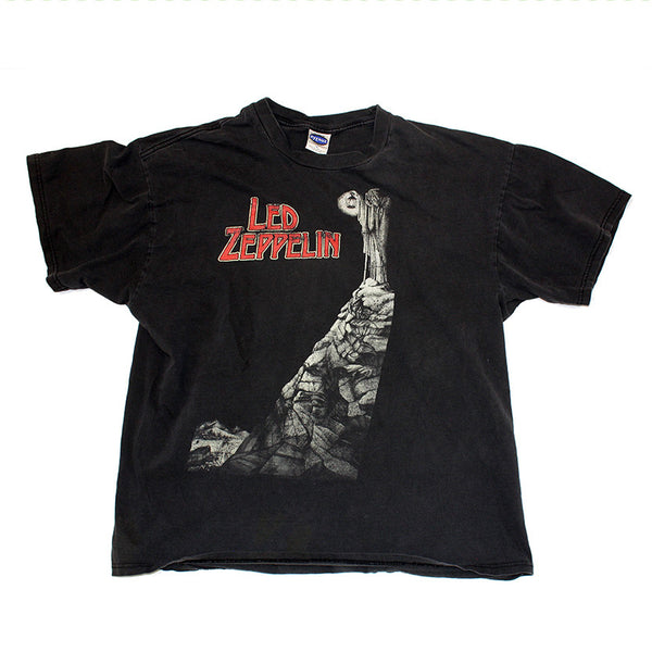 Led Zeppelin 2X Sided Tee (XL)