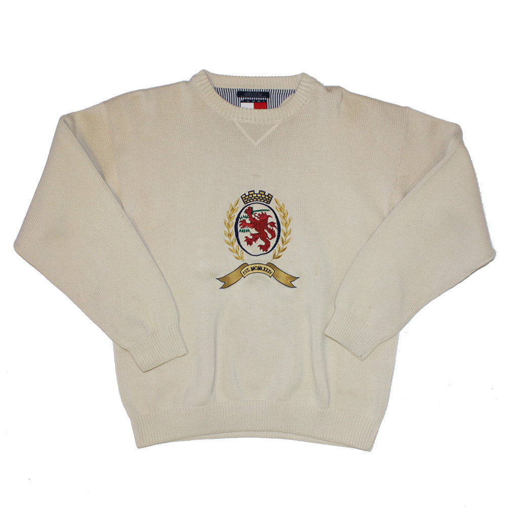 Tommy Hilfiger emblem sweater (XL)