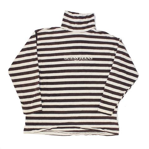 Guess Jeans Striped Turtle neck (L)