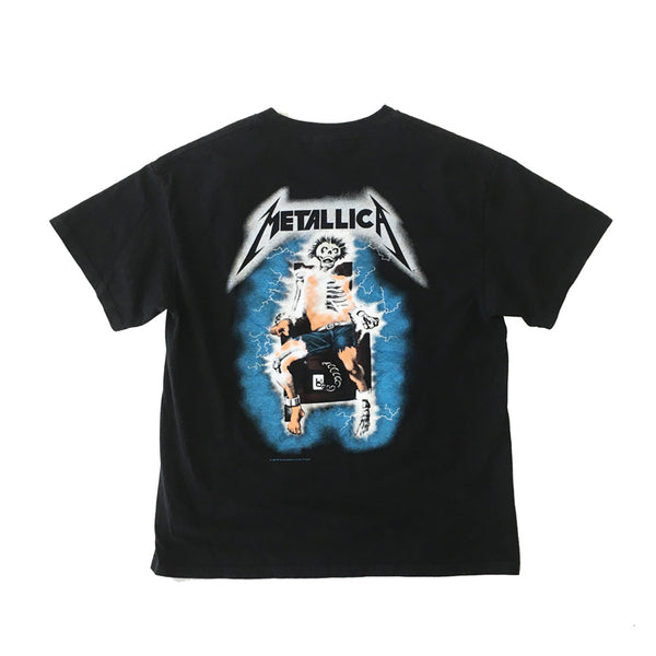 1994 Metallica Ride The Lightning Tee 2X Sided (L)