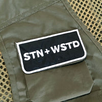 Station x Wasted Thread Utility Vest Green