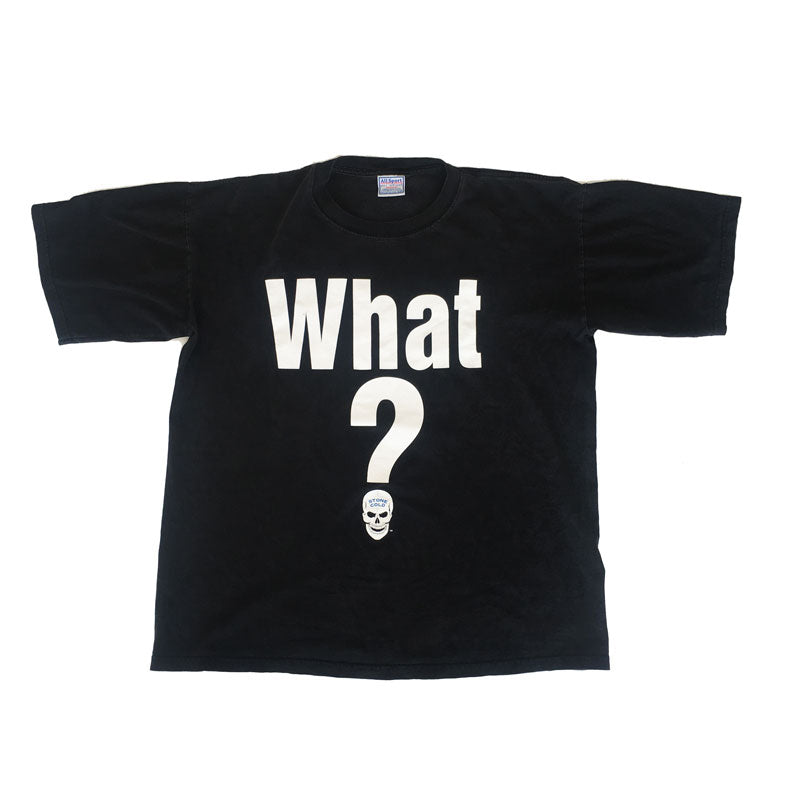 "Vintage ""What?' Stone Cold Steve Austin Tee"