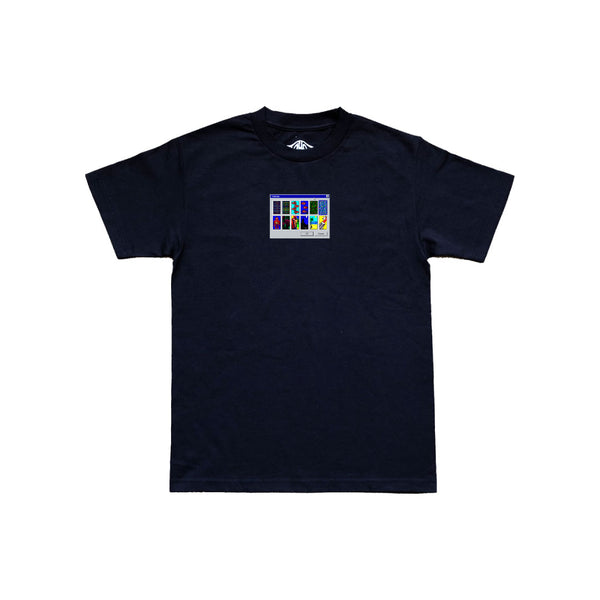 Station 'Solitaire' Tee Black