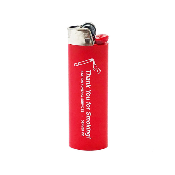 Station 'Thank You for Smoking' Lighter