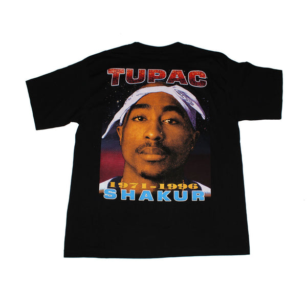 Tupac 'Big Face' Goldseries tee (XL)
