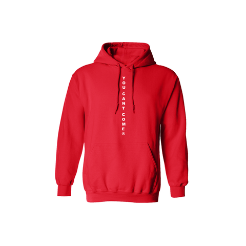 Station 'YCC' Hooded Sweatshirt Red