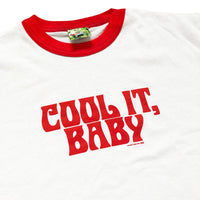 Felt Red 'Cool It' Ringer Tee