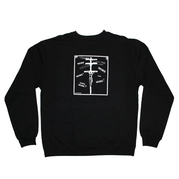 Undermine Consume Crew Neck (Black)