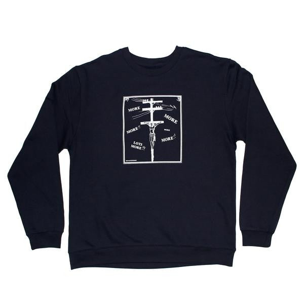 Undermine Consume Crew Neck (Navy)
