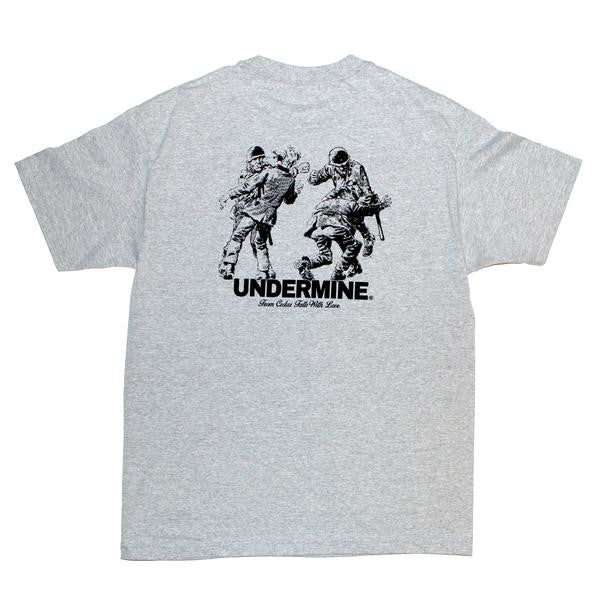 Undermine The Ties That Bind Tee (Ash)