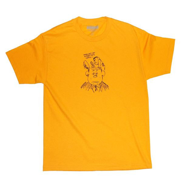 Undermine Shit For Brains Tee (Gold)
