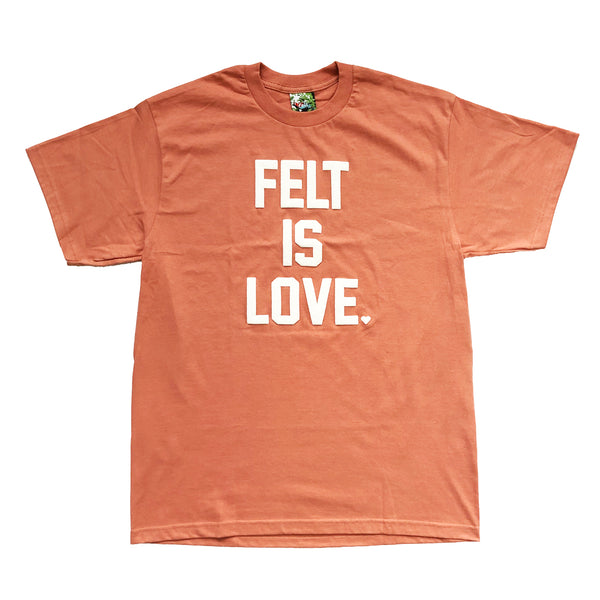 Felt Salmon 'Felt Is Love' Tee
