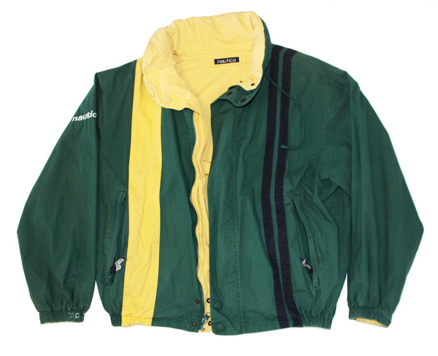 Nautica reversible color block jacket (L)