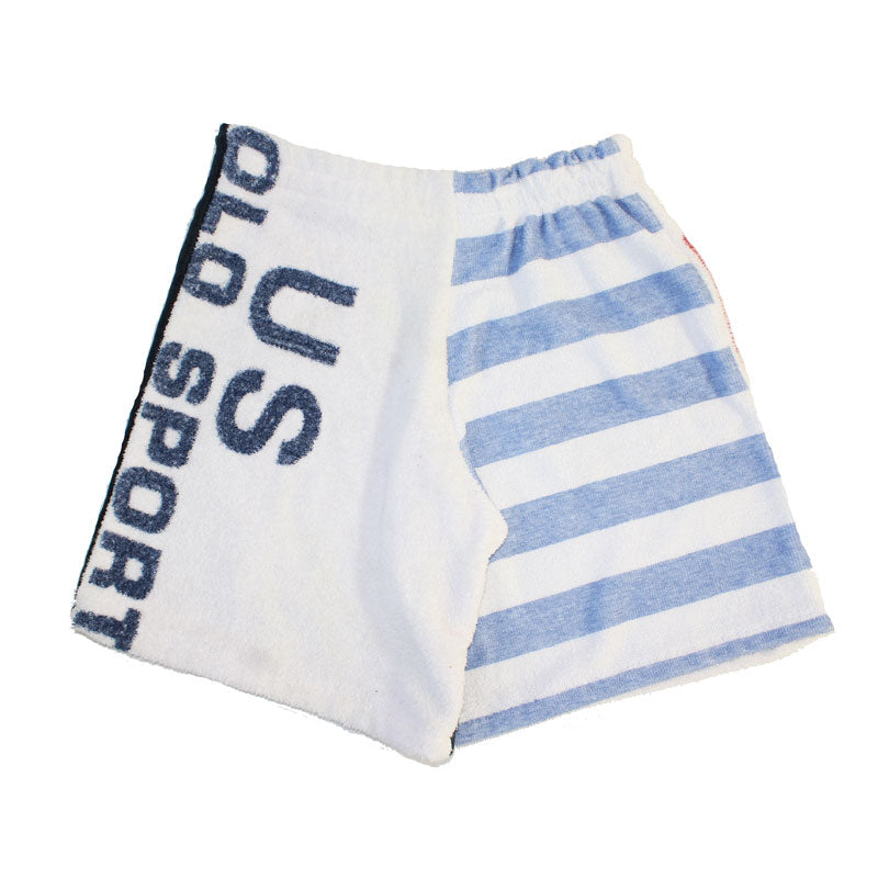 Up-cycled POLO Sport Towel Shorts