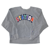 Station 'Inside-Out' Reverse Weave Sweatshirt (XL)