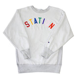 Station 'Inside-Out' Reverse Weave Sweatshirt (XXL)