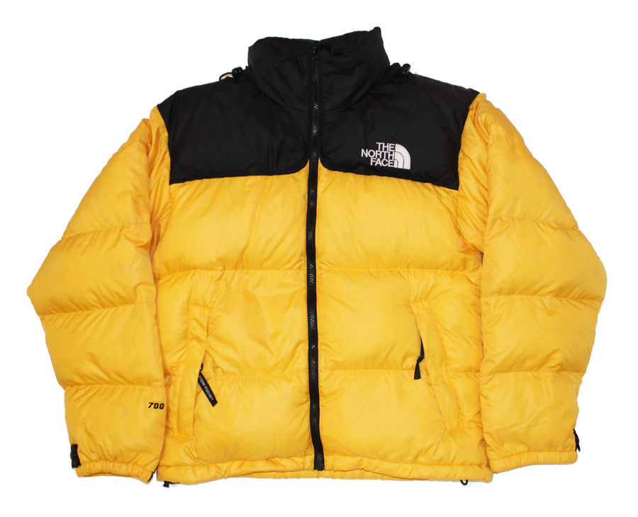 473f3e4a1 The North Face yellow Nuptse jacket (S) – Station