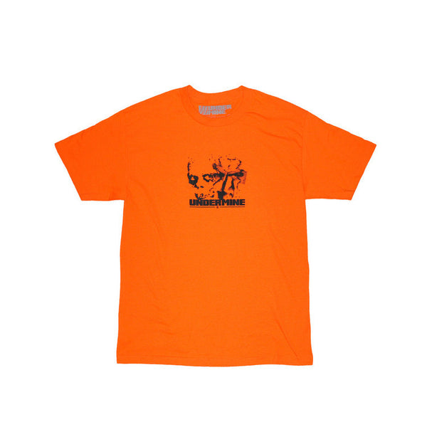 Undermine SS16 orange mummy tee