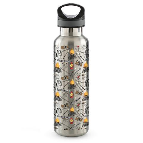 Camping Print Tundra 20 oz. Bottle