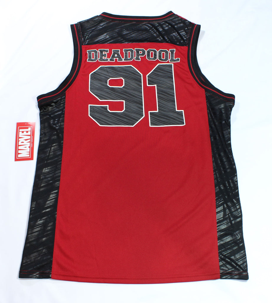 b24b07961aa Marvel© - Deadpool™ - Basketball Jersey Style Tank Top – Rebel Chill