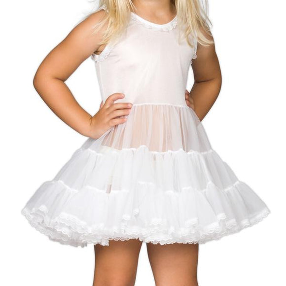 Girls' Bouffant Slip  Ruffles – IC Collections - Little N Kute Boutique