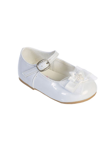 Baby White Shoes Infants Girls' w/ Bow
