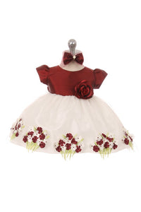 Baby  Girls Holiday Christmas  Dresses  Size 6-24M - Little N Kute Boutique