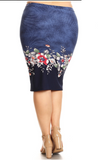 Women's Pencil Skirts - Little N Kute Boutique