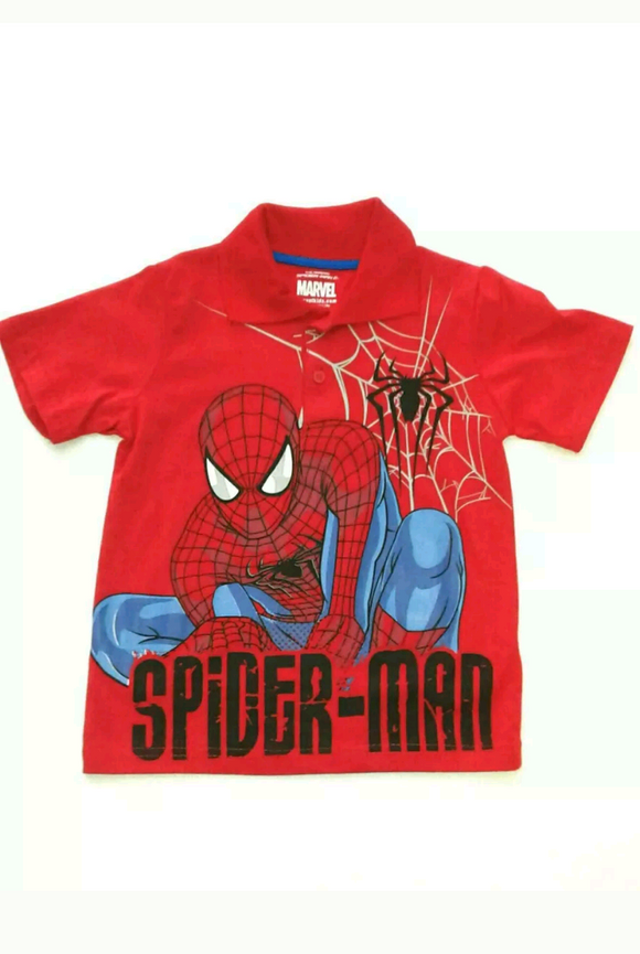 Boys Spider-Man Polo Shirt - Little N Kute Boutique