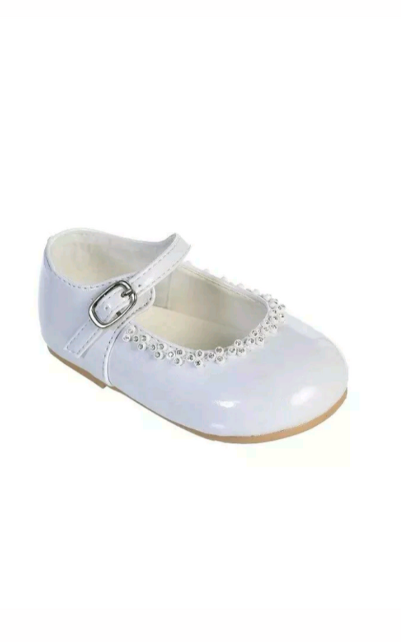 Baby Girls Dress Shoes Rhinestones Patent - Little N Kute Boutique