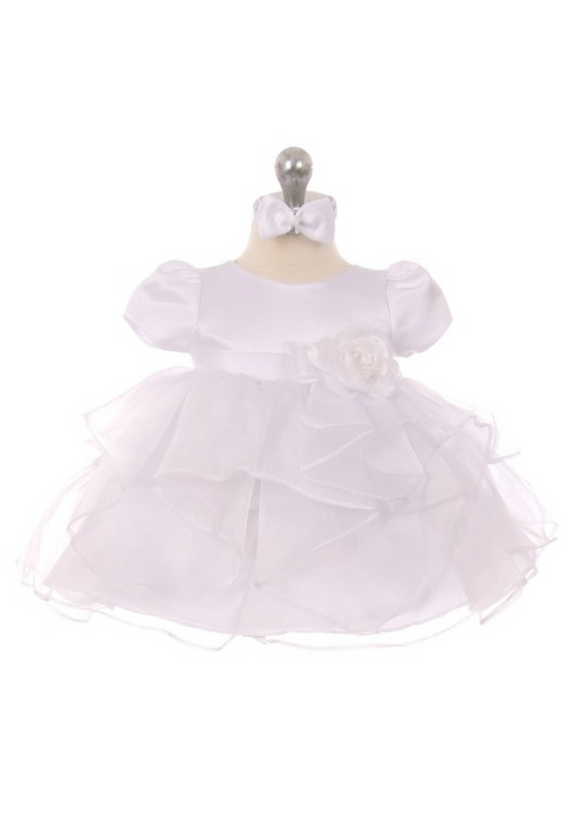 Infant Baby Girls Christening Dresses - Little N Kute Boutique