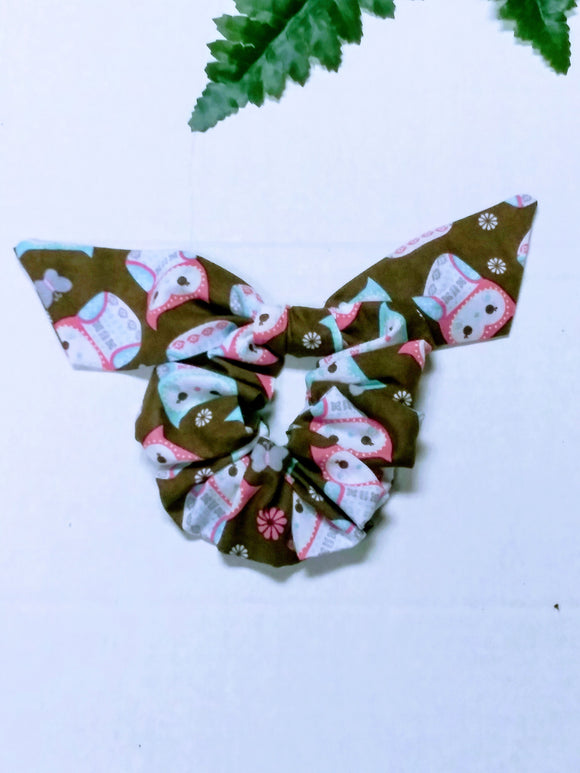 Handmade Bunny Ears Scrunchie - Little N Kute Boutique