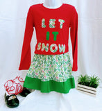Girl's 2-piece Christmas Outfit