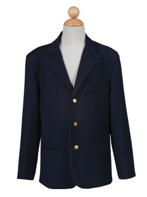 BIG BOYS NAVY THREE BUTTON CORDUROY EASTER BLAZER LITO 605 - Little N Kute Boutique