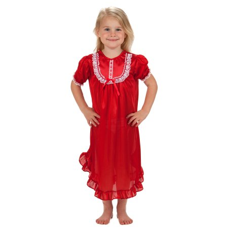 Traditional Nightgown for Girls - Little N Kute Boutique