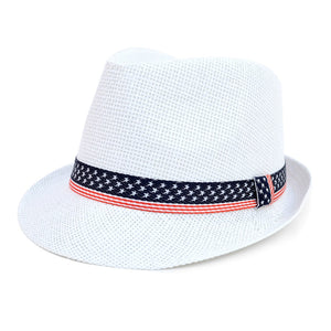 Men's 4th of July Fedora Hat - Little N Kute Boutique