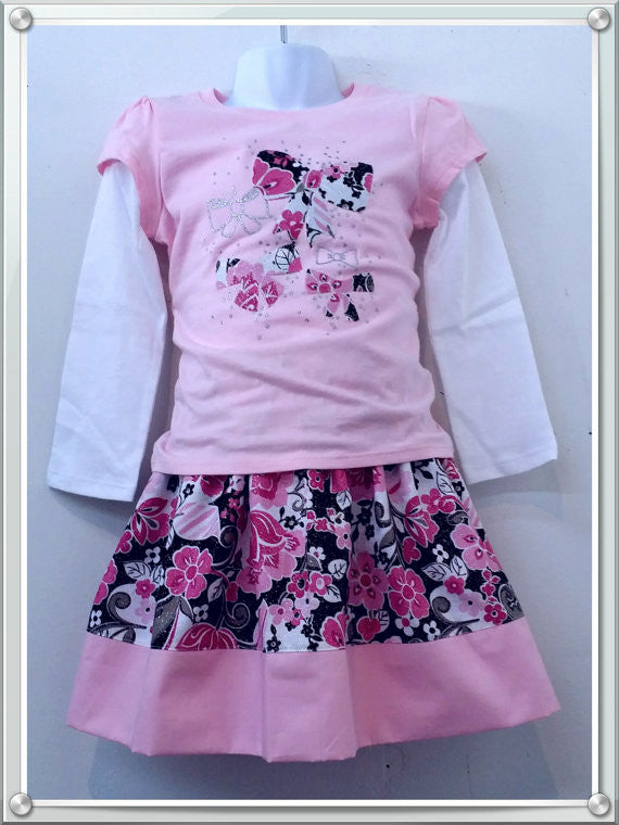 Girls'  2 Piece  Outfit  Set - Little N Kute Boutique
